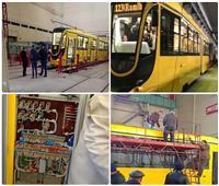 صور| ترام الإسكندرية الجديد.. عربات أوكرانية تزين شوارع «عروس المتوسط»