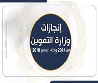 إنفوجراف| إنجازات وزارة التموين خلال أربع سنوات