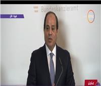 فيديو| السيسي:لدينا 5 ملايين لاجئ في مصر ونتعامل معهم كمواطنين