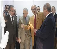 رئيس جامعة الأزهر يتفقد المستشفى التخصصي الجديد