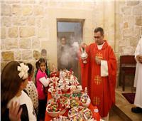 فلسطينيون يحتفلون بعيد القديسة بربارة