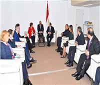 راضي: الرئيس السيسي بحث فرص التنمية في القارة الأفريقية بمشاركة البنك الدولي