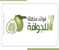 إنفوجراف| 7 فوائد مذهلة للجوافة.. تعرف عليها
