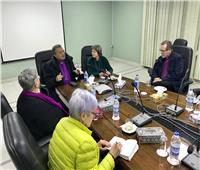 أندريه زكي يستقبل أساقفة الكنيسة الإنجيلية في النرويج