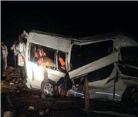 إصابة 5 أفراد في انقلاب «ميكروباص» بالمنوفية