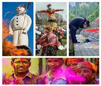 «حرق الدُمي وزيارة المقابر».. أشهر عادات الدول للاحتفال بالربيع