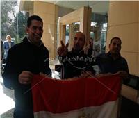 صور| الجالية المصرية ببيروت تشارك في الاستفتاء على التعديلات الدستورية