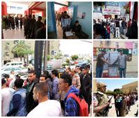 صور| في ثاني أيام الاستفتاء.. مشاركة الشباب «حائط صد» في وجه أعداء الوطن