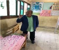 التعديلات الدستورية 2019| صلاح عبد الله يشارك في الاستفتاء بالهرم