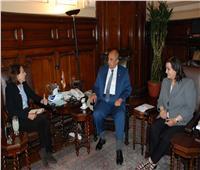 وزير الزراعة يبحث مع سفيرة كولومبيا بالقاهرة تكثيف التعاون الزراعي