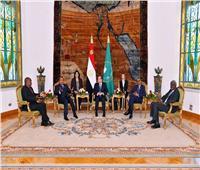 صور  ننشر نص البيان الختامي لاجتماع قمة الترويكا ورئاسة لجنة ليبيا بالاتحاد الإفريقي
