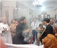 في عيده .. إيبارشية طموه تحتفل بعيد الشهيد ابي سيفين
