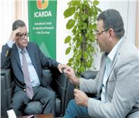 مدير عام «الإيكاردا»: خبرات 17 دولة فى خدمة الـ 1.5 مليون فدان.. والمعمل المتنقل أول الغيث