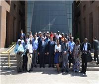 وفد من رؤساء التحرير والإعلاميين الأفارقة يزور مدينة الإنتاج الإعلامي