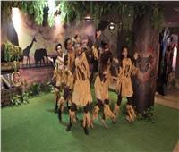 بالصور.. أجواء إفريقية في آيماكس مع انطلاقة فيلم The Lion King