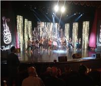 بدء احتفالية افتتاح مهرجان الابداع لمراكز الشباب في نسخته الثانية
