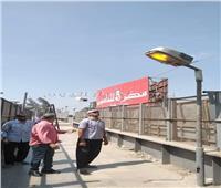 صور  بدء أعمال صيانة بطريق «مصر - إسكندرية» الزراعي