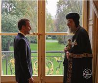 الرئيس الفرنسي يستقبل البابا تواضروس في «الإليزيه»
