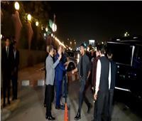 فيديو  محمد رمضان يتجاهل نقيب الممثلين في عزاء هيثم أحمد زكي