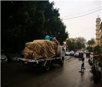 بالفيديو والصور.. الأمطار تربك الحركة المرورية بالقاهرة والمحافظات