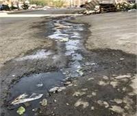 ثلاث شوارع بقرية الدير محرومة من الصرف الصحي