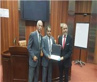 الأكاديمية المصرية للطيران تحتفل بتدريب٢٥مراقبا جويا من ليبيا واليمن