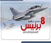 إنفوجراف| 8 معلومات عن قاعدة «برنيس» العسكرية في مصر