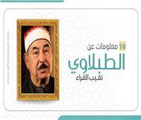إنفوجراف| ١٠ معلومات عن «الطبلاوي» نقيب القراء