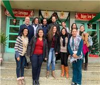 الأنبا باخوم يستقبل مسئولي الشبيبة الطالبة المسيحية بمصر