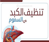إنفوجراف| تنظيف الكبد من السموم