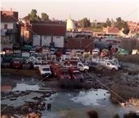 صور| أهالي «بندر أبو المطامير» يطالبون بنقل سوق المواشي