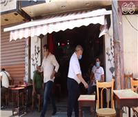 شاهد  تعليق الزبائن بعد إعادة فتح المقاهي بنسبة 25 %