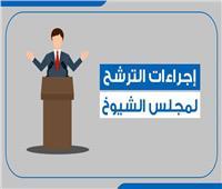 إنفوجراف  ننشر إجراءات الترشح لمجلس الشيوخ