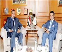 المدير العام للإيسيسكو يلتقي السفير المصري بالرباط