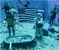 شاهد| رواد ناسا يختبرون بدلة فضاء جديدة تمهيدًا لرحلة القمر