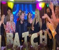 فيديو  نادية الجندي تخطف الأضواء في عيد ميلاد «هراتش سغبزريان»