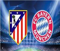 بث مباشر  مباراة بايرن ميونخ وأتلتيكو مدريد بدوري الأبطال