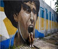 «فيفا» ينشر 4 صور حزينة من وداع مارادونا