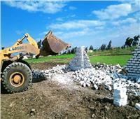 استمرار حملات إزالة التعديات علي الأراضي الزراعية بالشرقية