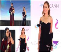 فيديو | إطلالة مميزة لـ منة شلبي في «القاهرة السينمائي».. وتوجه رسالة لمنى زكي