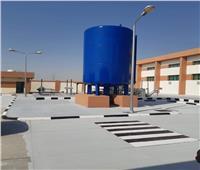 تنفيذ شبكة مياه متكاملةومحطة تحلية عملاقه بمدينة العريش