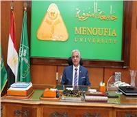 رئيس جامعة المنوفية: تحية أعزاز وتقدير لشهداء الوطن فى عيدهم