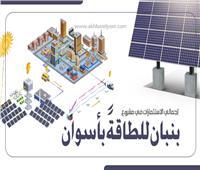 إنفوجراف | 2 مليار دولار إجمالي الاستثمارات في مشروع بنبان للطاقةً بأسوان