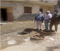 رئيس شركة مياه المنوفية يتابع ميدانيا أعمال الإصلاح بشبين الكوم | صور