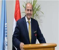 قنصل مصر في شيكاغو يكرم علي فرج و نور الشربيني بطلى العالم للاسكواش
