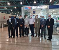 وزير الطيران يتفقد مطار الاقصر الدولي قبل انطلاق الموسم الشتوي