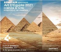 مصر للطيران الناقل الرسمي لمعرض Art d'Egypte