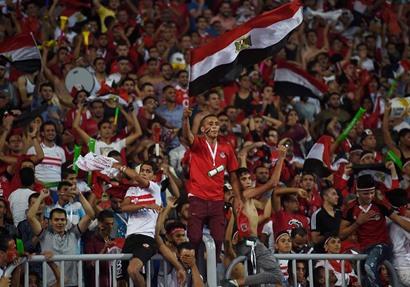 جماهير مباراة مصر والكونغو - تصوير عصام صبري