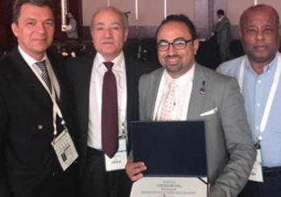 طب الأزهر يفوز بجائزة دولية في دبي