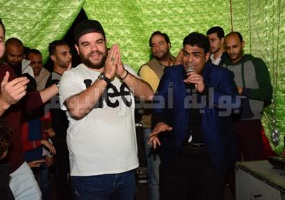 محمد عبد الرحمن خلال الحفل